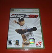 Major League Baseball 2K7 (Microsoft Xbox 360, 2007) -New
