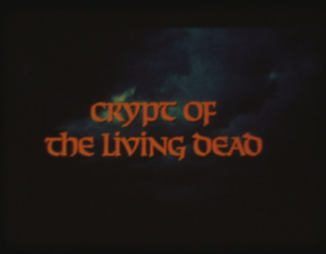 16mm Film Crypt of the Living Dead (1973) (AGFA Low Fade) Letterbox Vampire NM!