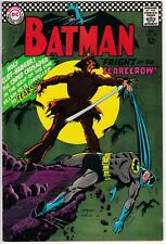 Batman #189 INC 0.1 --> 1st Silver Age appearance Scarecrow <-- ad page missing