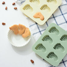 Baby Feet Shower Silicone Mould Cake Chocolate Mould Wax Melt Candle Candy Paste