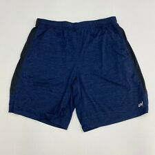Unipro Athletic Shorts Mens XXL Qwick Dry Blue Casual Workout