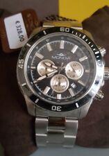Orologio MONDIA Zenith Diver Acciaio cronografo NUOVO GARANZIA 328€ chrono watch