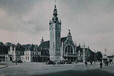 10107 AK DANZIG BAHNHOF PC Gdansk railway station 1940