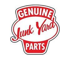 Genuine Junk Yard Parts Vintage Racing Hot Rod Racing Vinyl Sticker 4 Stickers
