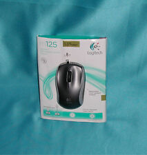 Logitech m125 Retractable Corded Mouse New Other Great Back to School Find SALE!