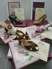 Just The Right Shoe by Raine - Lot of 5 with Boxes Coas 20th Century Collection