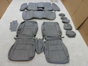 Leather Seat Covers Fits Honda Accord 2008-2010 Sedan LX Grey BT10