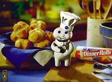 Pillsbury Doughboy Poppin Fresh Ltd. Lithocel Advertisement Art Ad Baking NEW