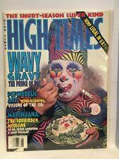 High Times (June 1993) Magazine