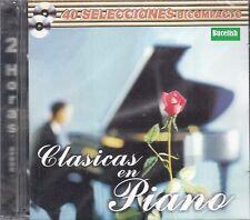 Clasicas En Piano 40 Exitos 2CD New Nuevo sealed