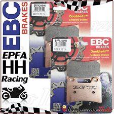 PASTIGLIE FRENO ANTERIORE RACING EBC EPFA244HH APRILIA DORSODURO ABS 1200 2011