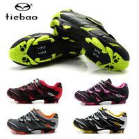 Tiebao Men's MTB Cycling Bicycle Shoes for Shimano SPD Cleats Bike Shoes Sneaker