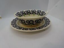 More details for emma bridgewater ngs auricula breakfast set cereal bowl and plate
