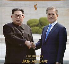 South Korea 2018 MNH Inter-Korean Summit Pack Kim Jong-un Moon Jae-in Stamps