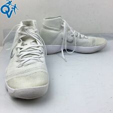 Nike Men's Hyperdunk 2017 Flyknit 'Triple White' Basketball Shoes Size US 9.5