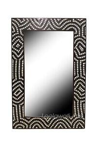 Mirror Frame Handmade Bone Inlay