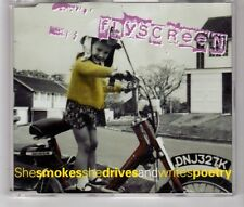 (HJ56) Flyscreen, She Smokes She Drives & Writes Poetry - 1997 CD