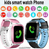 Waterproof Kids Smart Watch Anti-lost Safe Tracker SOS Call For Android iOS