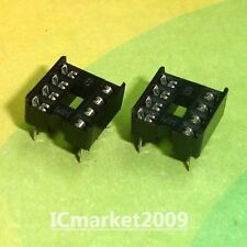 100 PCS 8 PIN 8PIN DIP IC Sockets Adaptor Solder Type