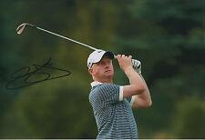 Simon DYSON SIGNED 12x8 Photo AFTAL Autograph COA Indonesian Open Winner