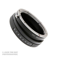 Pro Canon EOS EF to Micro 4/3rds Tilt Lens Adapter for Focus Isolation. MFT M43