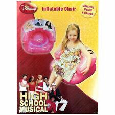 "High SCHOOL MUSICAL Gonfiabile sedia ""Prom"" DESIGN KIDS SEDIA-POLTRONA per bambini"