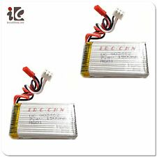 2X 7.4V 1500mah Lithium Upgrade BATTERY EGOFLY LT-711 MJX F45 F645 RC HELICOPTER
