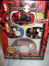 Sakar Official Movie Merchandise Marvel Iron-Man Digital Camera NEW