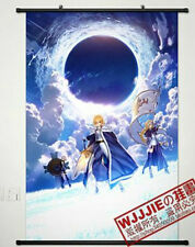 Fate/stay Night Home Decor Anime Japanese Poster Wall Scroll  saber(90*60)-458