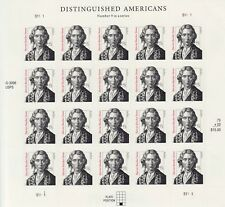 HARRIET BEECHER STOWE DISTINGUISHED AMERICANS STAMP SHEET -- USA #3430 75 CENT