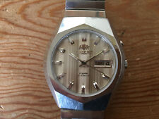 Used - Vintage Watch Reloj ORIENT Automatic Day Date - It works Funciona - Usado