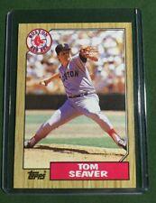 1987 Topps TOM SEAVER Baseball 425 BOSTON RED SOX MINT! Free Shipping! LOT OF 5