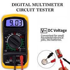 LCD Digital Multimeter Voltmeter Buzzer Tester AC DC OHM Current Circuit Checker
