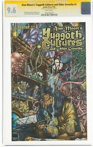 Yuggoth Cultures #1 CGC 9.6 SS Signed by Alan Moore Signature Series