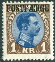 Danmark Dänemark 1922 Postfähre / Postfaerge Nr. 10 ungebraucht mit Falz unused