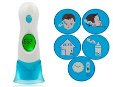 8 in 1 Non Contact Infrared Body Forehead Baby Adult Digital Thermometer