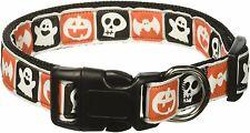 Mirage Pet Products Classic Halloween Nylon Ribbon Collar, Large