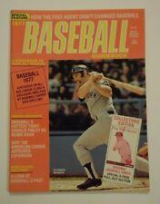 1977 Baseball Guidebook Magazine Thurman Munson New York Yankees
