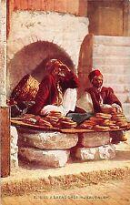 POSTCARD  JERUSALEM   A  Bread  Shop