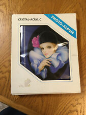 Crystal Acrylic Photo Album