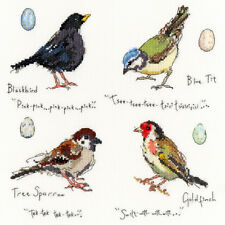Bothy Threads Cross Stitch Kit-Jardín Aves 2
