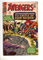 Avengers #13 Fn+ 6.5 1965 Original Team Thor, Iron Man, Captain America, Ant Man