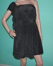 "BEBE ~ Size SMALL ~ ""Little Black DRESS"" ~ Satin-Lined SILK ~ EUC ~ Free S&H !"