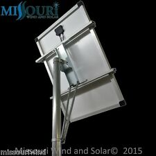 Solar Panel Mounting Rack top of pole fits 100 watt 12 volt solar panel PV