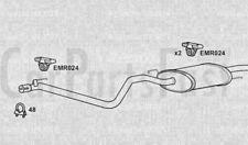 EXHAUST REAR BACK BOX Volkswagen Vento 1.6 Petrol Saloon 01/1994 to 09/1994