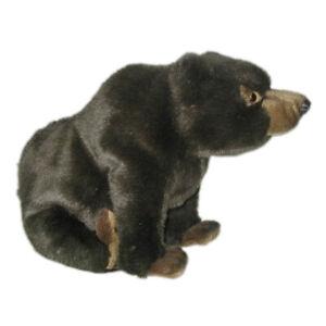 HANSA GRIZZLY BEAR SITTING REALISTIC CUTE SOFT ANIMAL PLUSH TOY 38cm **NEW**