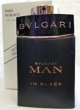 Bvlgari Parfums EDP Spray Man In Black 100 Ml 3.4 Oz Tester New In Box