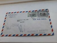 PANAMA TO YORK UK COVER 1950s ? BX1