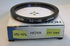 Hoya 52mm-46mm Step Down Ring - Very Rare + Free UK Postage