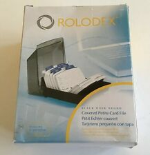 Rolodex 67093 Covered Petite Card File Address Telephone Organizer NEW